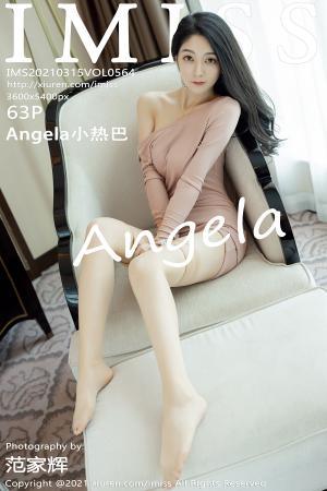 [IMISS] 2021.03.15 VOL.564 Angela小热巴