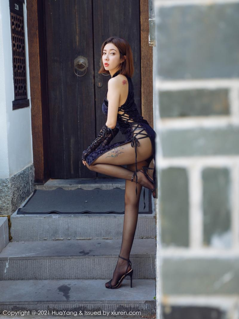 花漾show [HuaYang] 2021.09.08 VOL.447 果儿Victoria