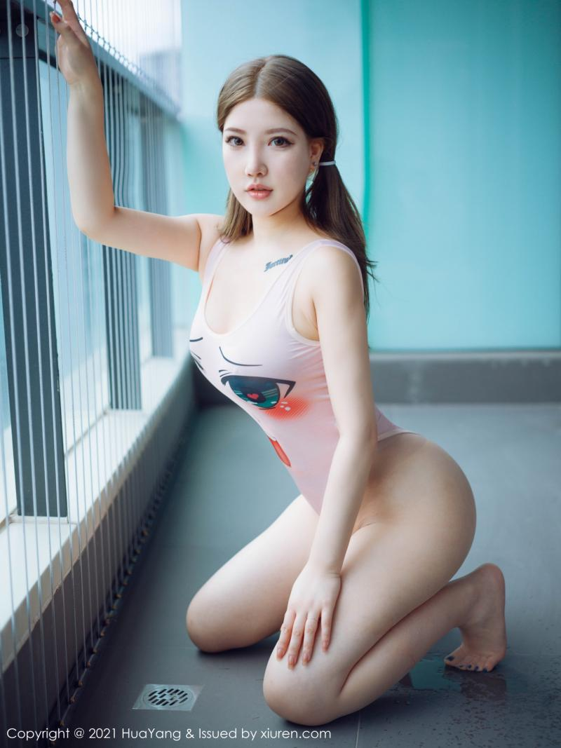 花漾show [HuaYang] 2021.09.13 VOL.449 小海臀Rena