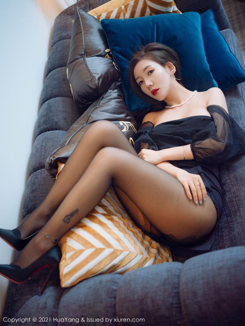 花漾show [HuaYang] 2021.06.01 VOL.409 艾静香