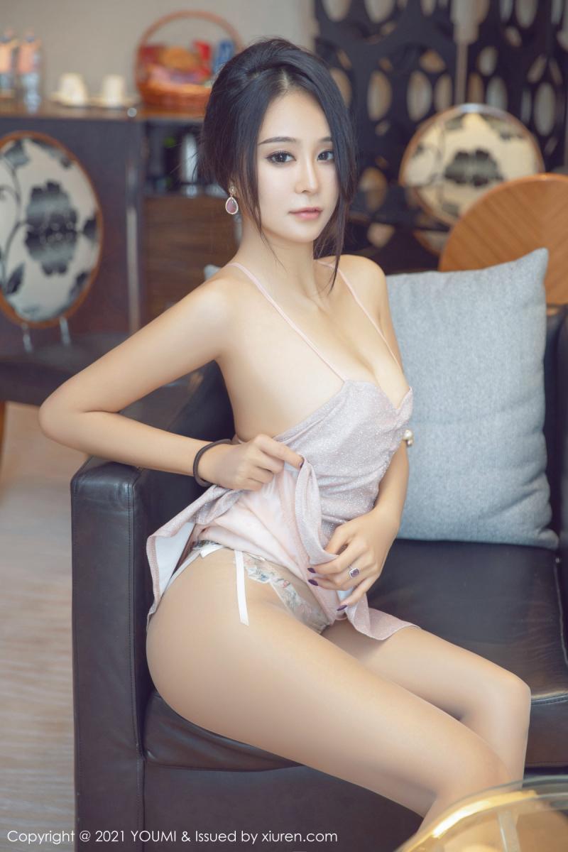 尤蜜荟 [YOUMI] 2021.06.08 VOL.651 蓝夏Akasha