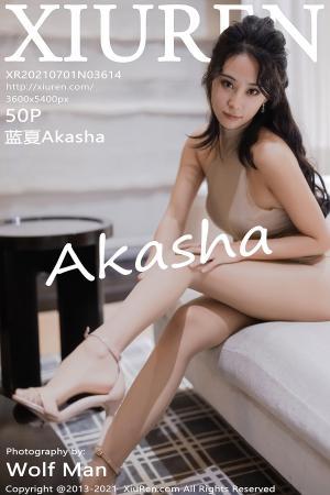 [XIUREN] 2021.07.01 蓝夏Akasha
