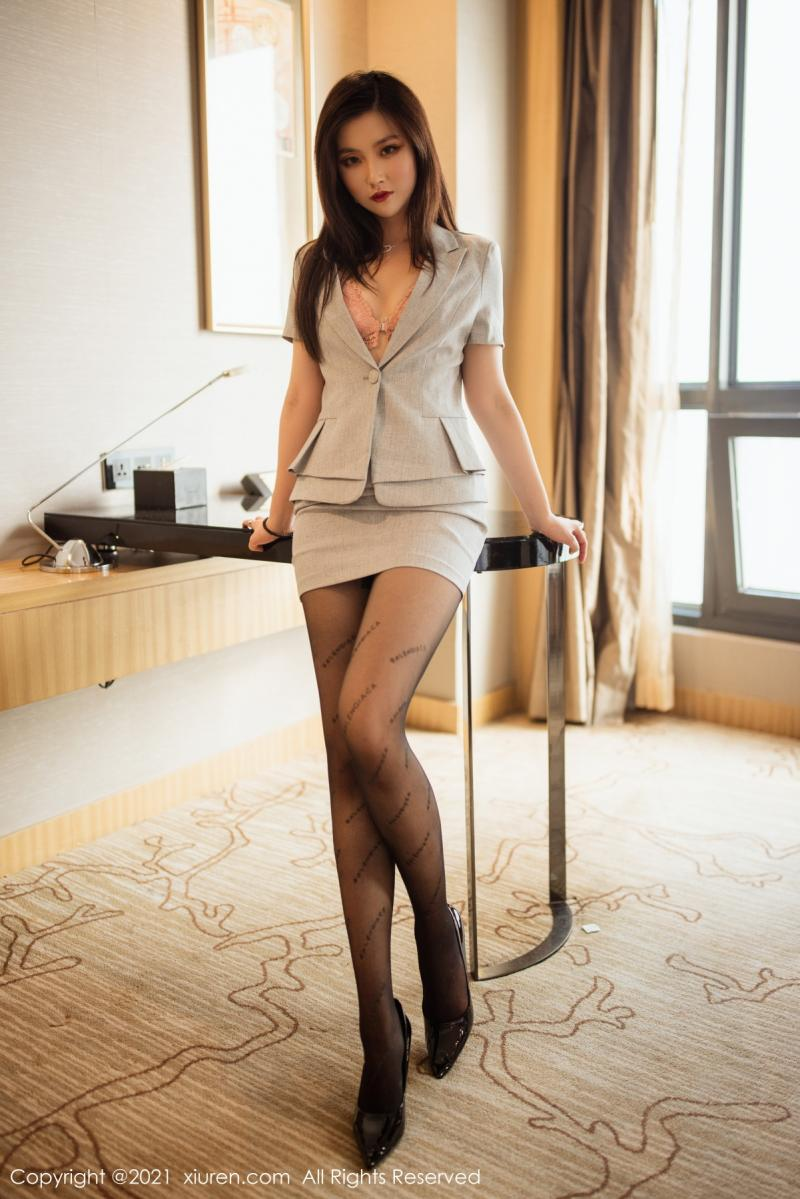 秀人网 [XIUREN] 2021.07.13 刘艾琳Allen